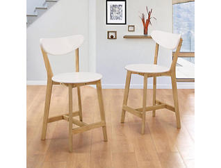 Retro Bar Stools Set of 2, , large