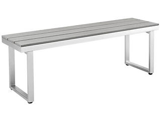 Diego Dining Bench, Grey, , large