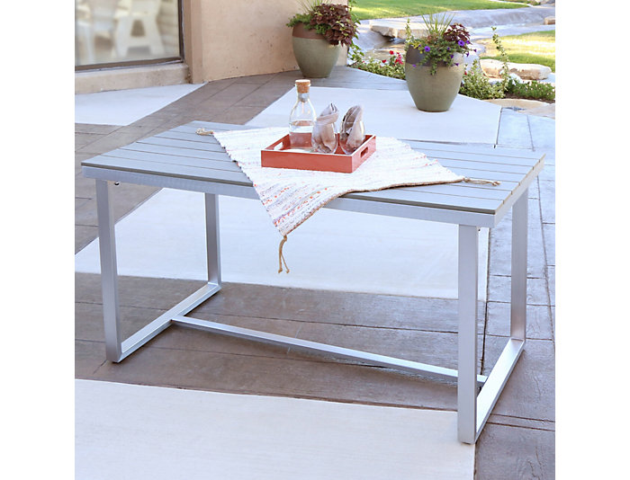 Diego Dining Table, Grey, , large