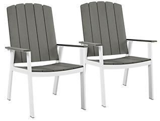Coastal Dine Chair (Set of 2), Grey, , large