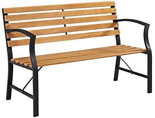 Trenton Park Bench, Brown, , large