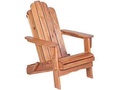 Laredo Adirondack Chair, Brown, , large