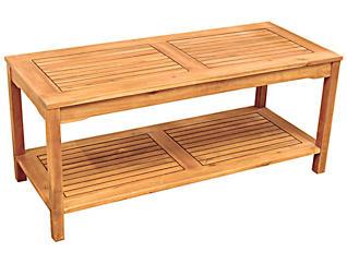 Aspen Acacia Coffee Table, , large