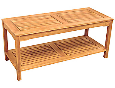 Aspen Acacia Coffee Table, Natural, , large