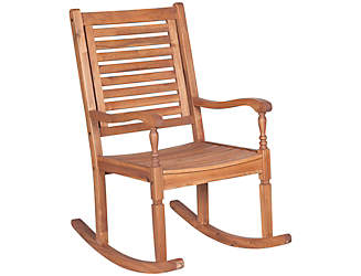 Shae Designs Patio Furniture 425 mass apartments Helena Acacia Rocking Chair