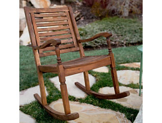 Helena Rocking Chair, Brown, large