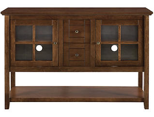"""Eastern 52"""" Walnut TV Stand, , large"""