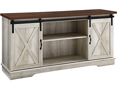 """Grixdale 58"""" White TV Stand, , large"""