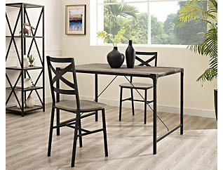 Cole Driftwood Dining Table, , large