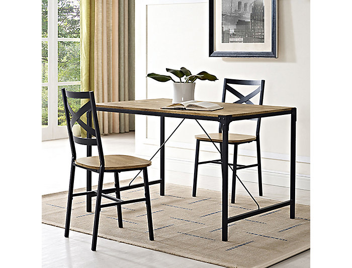 Cole Barnwood Dining Table, , Large