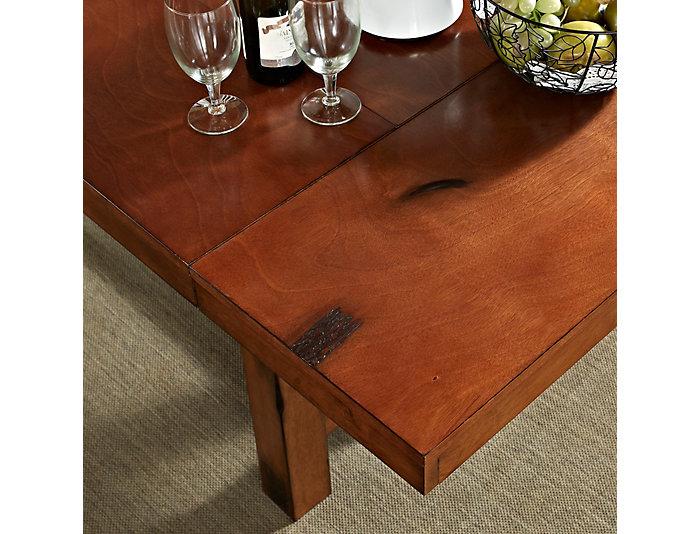 Rocky Dark Oak Dining Table, , large