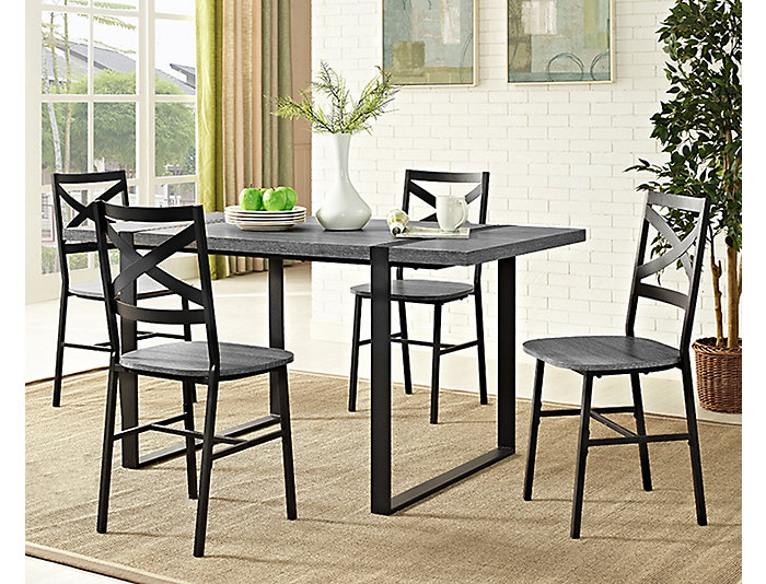 "Micah Charcoal 60"" Table, , large"