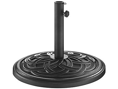Circle Black Umbrella Base, , large