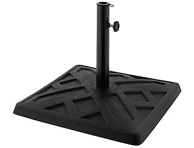 Square Black Umbrella Base, , large