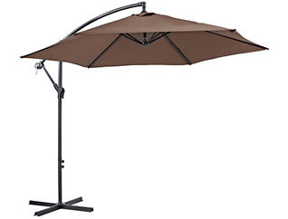 9  Brown Cantilever Umbrella, , large