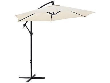 9  Tan Cantilever Umbrella, , large