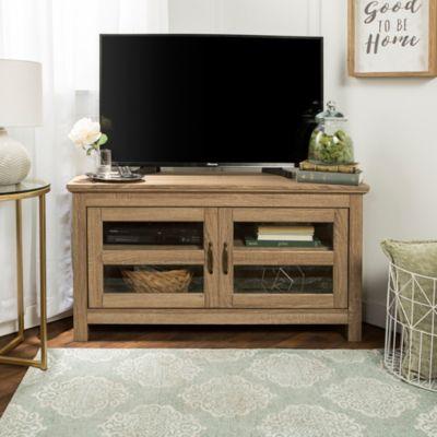 Liam 44 Corner Tv Stand Grey