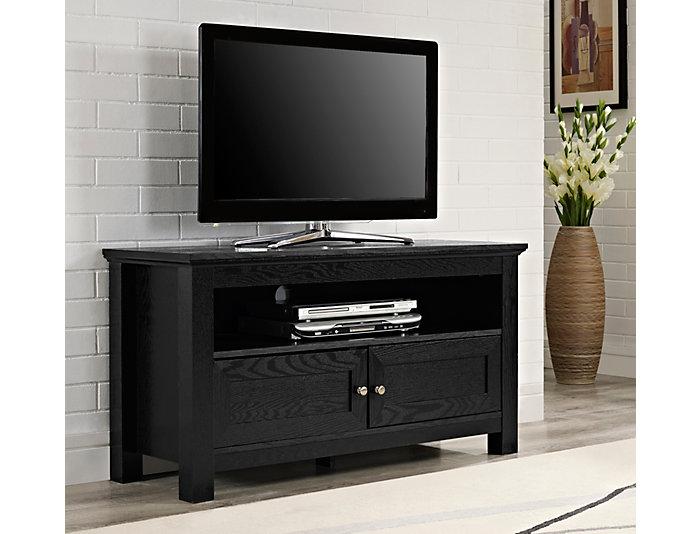 "Alexa 44"" Black TV Stand, , large"