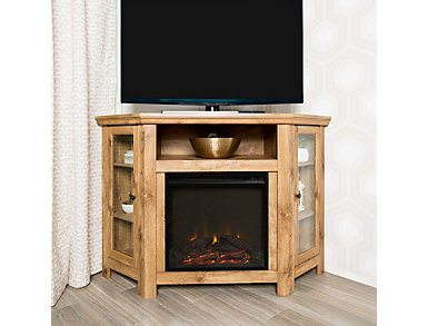 "AJ 48"" Corner Barn Fireplace, , large"