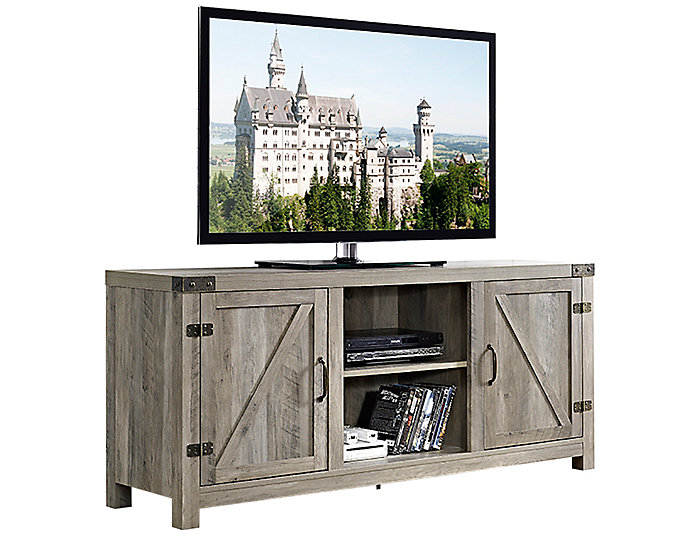 "Bo 58"" Grey Wash TV Stand, , large"