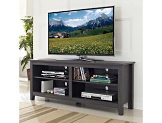 "Kona 58"" Charcoal TV Stand, Grey, large"