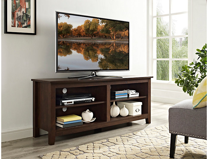 "Luca 58"" Brown TV Stand, , large"