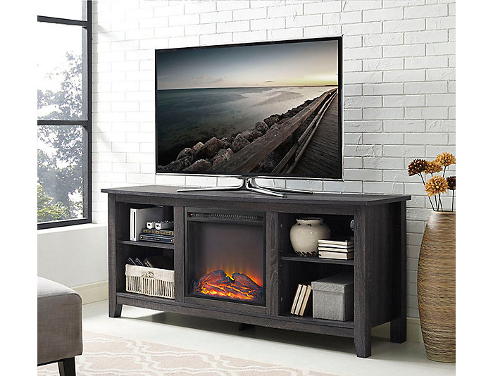 """Lynx 58"""" Charcoal Fireplace, , large"""