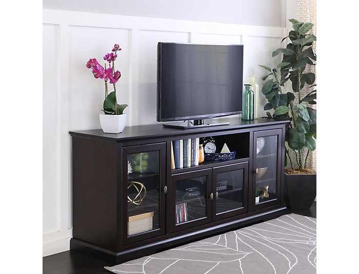 "Willow 70"" Espresso TV Stand, , large"