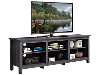 "Luca 70"" Charcoal TV Stand, , large"