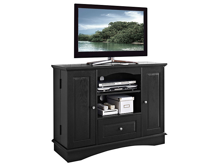 "Dodson 42"" Black TV Stand, , large"