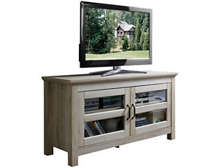 "Chase 44"" White TV Stand, , large"
