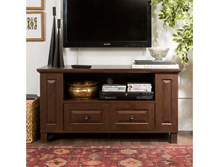"Marcel 44"" Brown TV Stand, Brown, large"