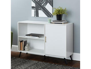 "Peggy 48"" White TV Stand, , large"