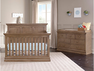 Pine Ridge Cashew Convertible Crib, , large