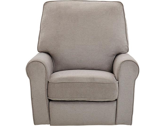 Strange Savanna Platinum Swivel Power Recliner Art Van Home Bralicious Painted Fabric Chair Ideas Braliciousco