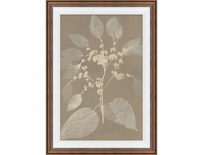 Inverted Floral IV Wall Art, , large