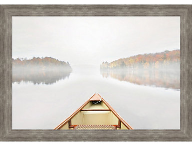 Lake Canoe I Wall Art, , large