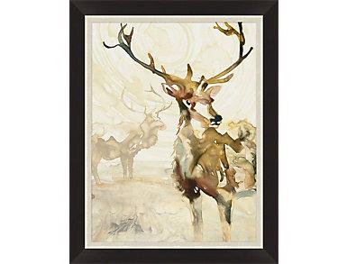 Deer Impressions I Wall Art, , large
