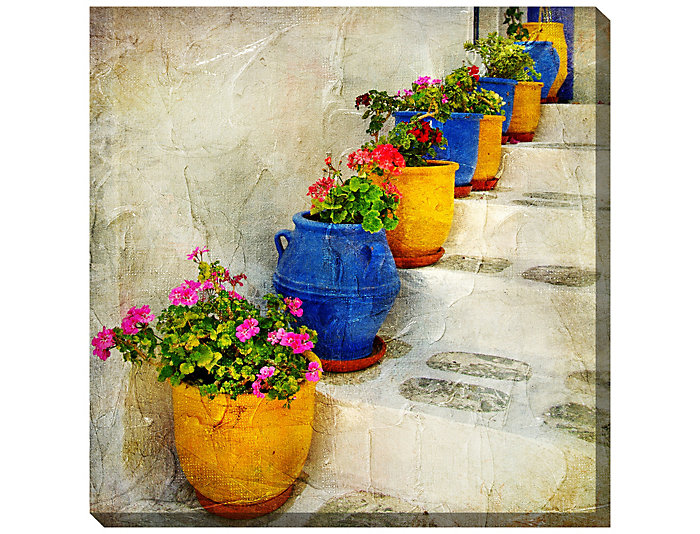 Bright Pots Outdoor Wall Art, , large