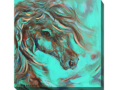 Blue Horse I Outdoor Art, , large