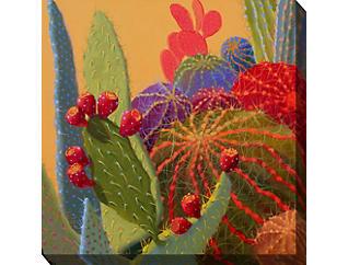 Red Cactus II Outdoor Art, , large