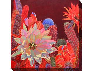 Red Cactus III Outdoor Art, , large