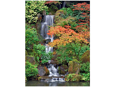 Waterfall Outdoor Wall Art, , large