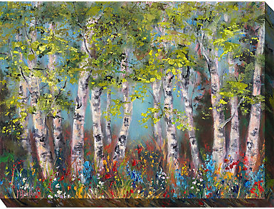 Wildflower Forest Outdoor Art, , large