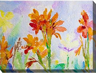 Orange Tigerlily Outdoor Art, , large