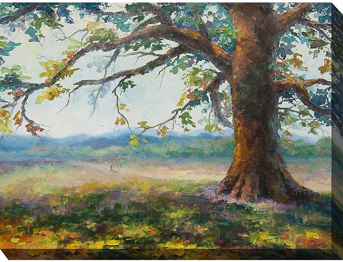 Old Oak Tree Outdoor Wall Art, , large