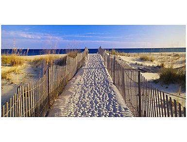 Beach Walk Outdoor Wall Art, , large
