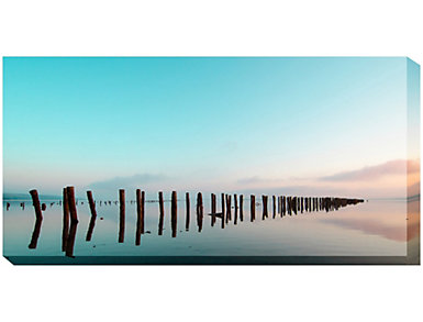 Turquoise Sky Outdoor Wall Art, , large