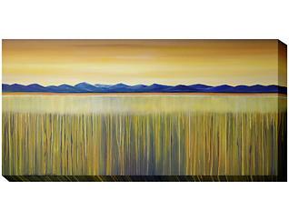 Golden Reeds Outdoor Wall Art, , large