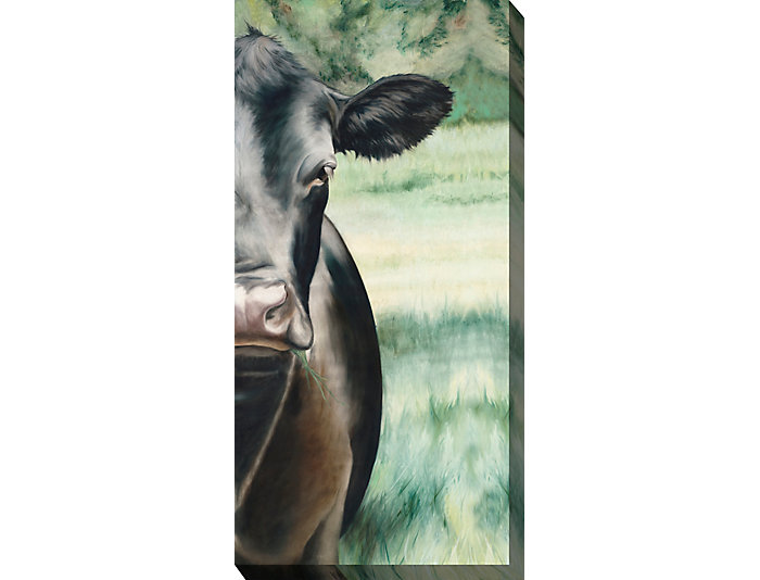 Cow Portrait Outdoor Wall Art, , large